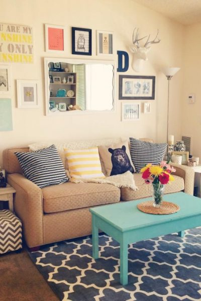 living room from target