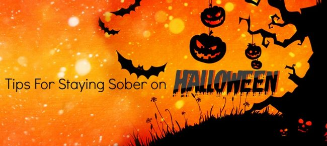 staying sober on halloween