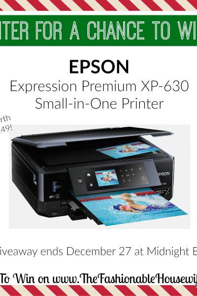 EPSON XP-630 Printer
