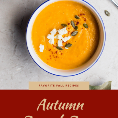 Perfect Autumn Squash Soup Recipe