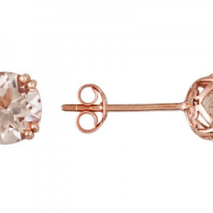 Enter To Win 1.8ctw Cor-de-rosa Morganite 14k Rose Gold Earrings worth $372! #EverydayEarrings