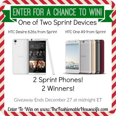 Enter To Win a SPRINT Phone! 2 Phones! 2 Winners! #SprintMom #IC #AD