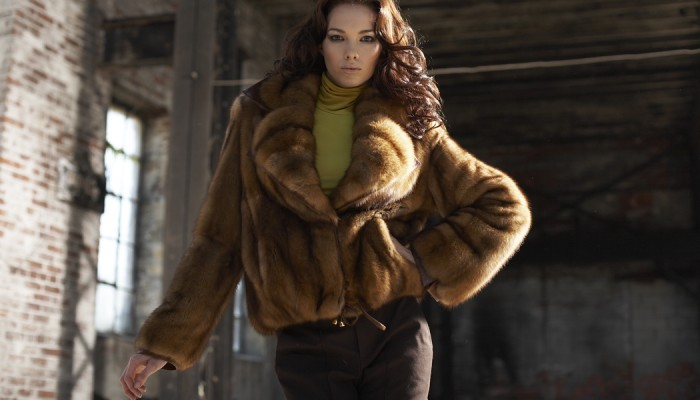Trendy Mink Coats Offer Great Styling