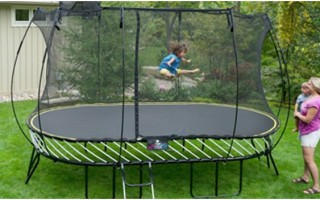 The World's Safest Trampoline For Your Kids