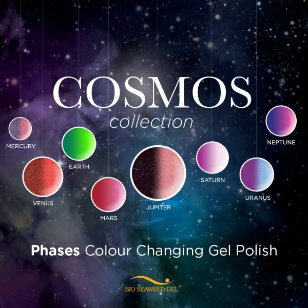 Bio Seaweed's NEW Phases Gel Polish Cosmos Collection