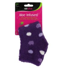 aloe infused socks