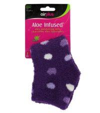 aloe infused socks