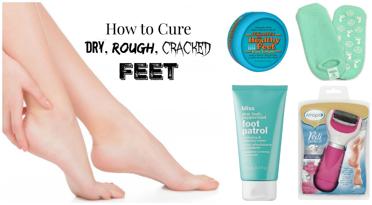 how to cure dry feet