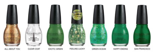 sinful colors st patricks day