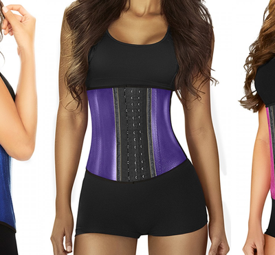 Glamorize Your Workout Routine with Metallic Waist Trainers!
