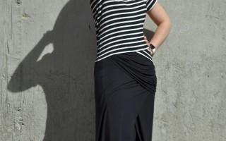 Today's Outfit: Cabi Maxi Skirt & Crop Top