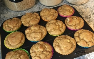 Recipe for Fluffy Gluten Free Banana Muffins