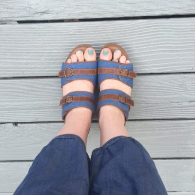 The Perfect Summer Sandals from Rocky 4EurSole #WhatFeedsEurSole
