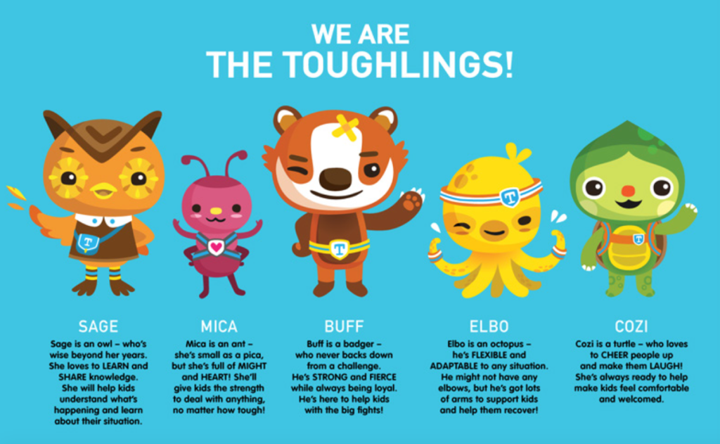 Meet the Toughlings at Floating Hospital for Children #FloatingHospital