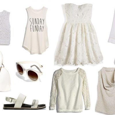 Trend Alert: It's Time To Wear White!