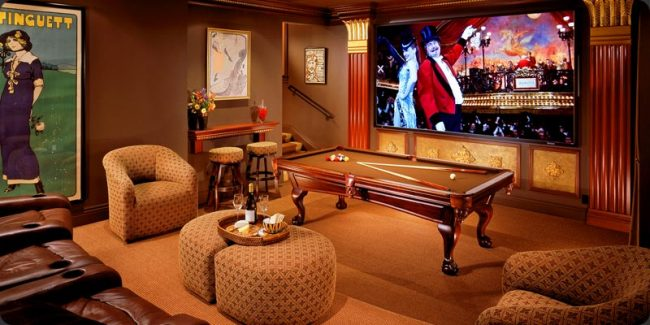 Upscale Home Decor For Your Game Room