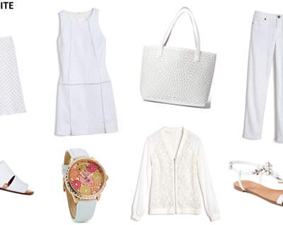This Summer's Top Trend And How To Wear White
