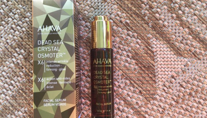 AHAVA Dead Sea Crystal Osmoter X6 Offers Intense Wrinkle Reduction