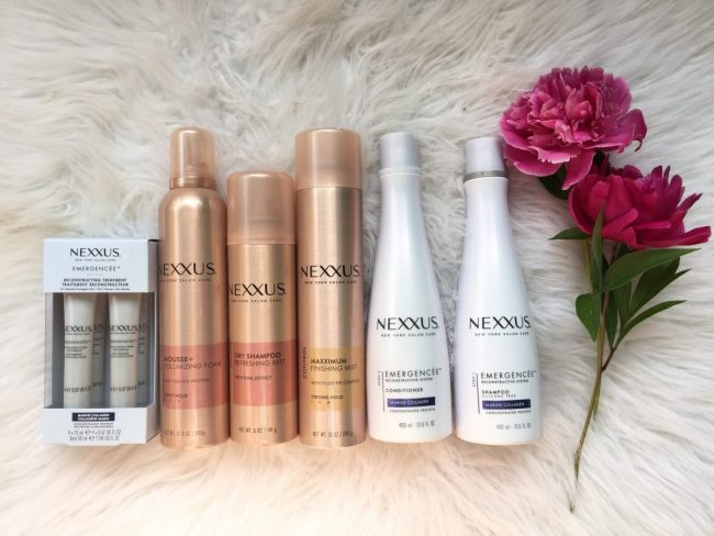 My Experience With Nexxus New York Salon Care Hair Products