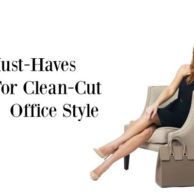 4 Must-Haves for Clean-Cut Office Style