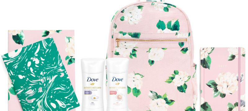 Dove Back-To-School Essentials Giveaway worth $100+