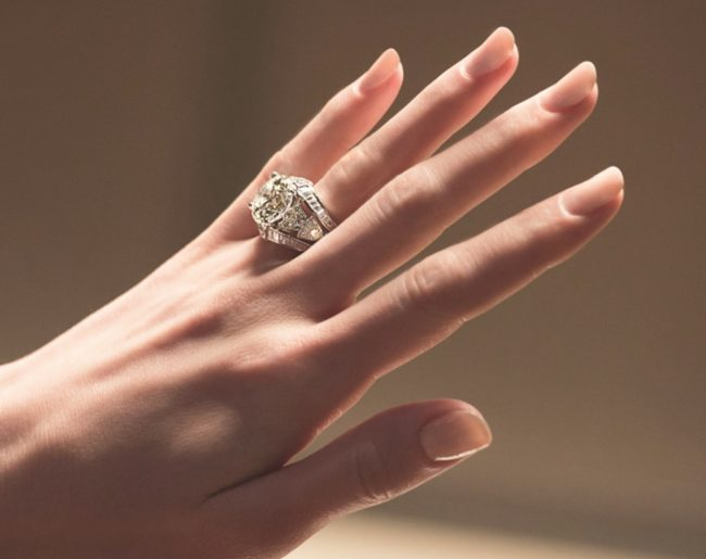 Cartier diamond wedding rings