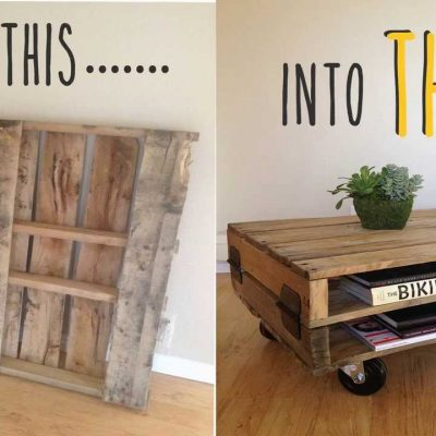 3 Creative DIY Table Designs
