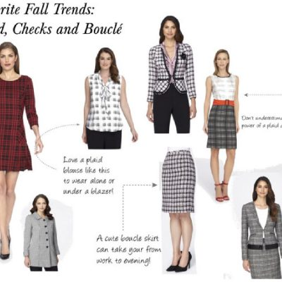 Favorite Fall Trends: Plaid, Checks and Bouclé