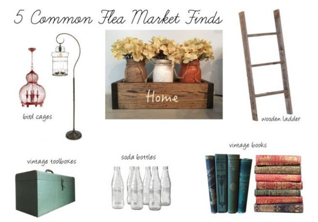Update Your Home with These 5 Common Flea Market Finds