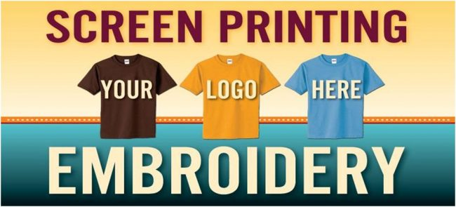 What is the Best Choice between Embroidery and Screen Printing?
