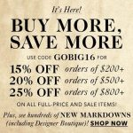 Shopbop's Buy More, Save More Sale is Here!
