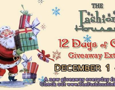 12 Days of Christmas Giveaway Extravaganza 2016!