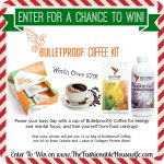 Enter To Win Bulletproof Coffee Kit worth over $70! #12DaysofChristmasGiveaways