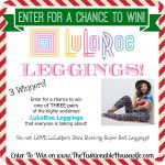 Enter To Win A Pair of LuLaRoe Leggings! 3 Winners!