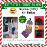 Heat Holders Supremely Cozy Gift Basket worth $88! #12DaysofChristmasGiveaways