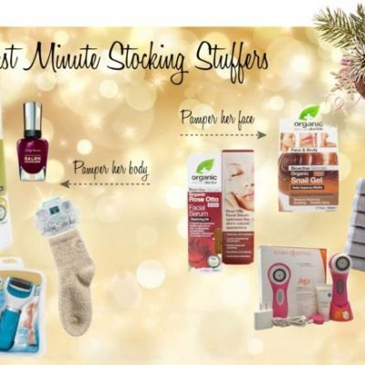 Last Minute Stocking Stuffers To Pamper Her