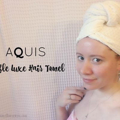 AQUIS Waffle Knit Luxe Hair Towel Review