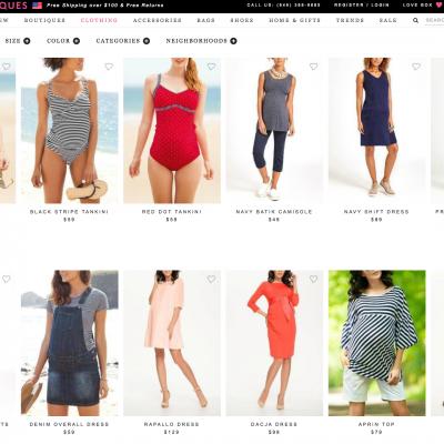 Shoptiques.com Now Offers Maternity & Nursing Wear!