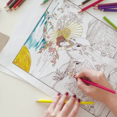 coloring book Archives - The Fashionable Housewife