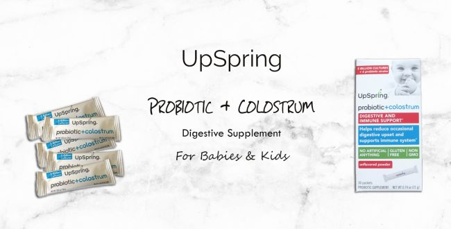UpSpring Probiotic + Colostrum Digestive Supplement For Babies & Kids