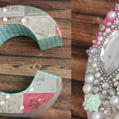 DIY & Crafts: Make Your Own Decoupage Monogram