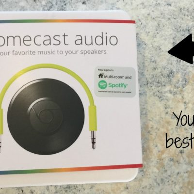 Music Made Easy With GOOGLE @Chromecast Audio at @BESTBUY