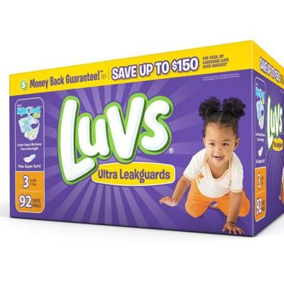 Save Big on Luvs Diapers