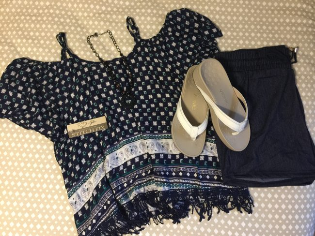 Today's Outfit: Stitchfix & Vionic High Tide Sandals