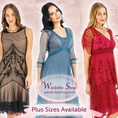 Show Off Your Shape In Vintage Plus Size Dresses