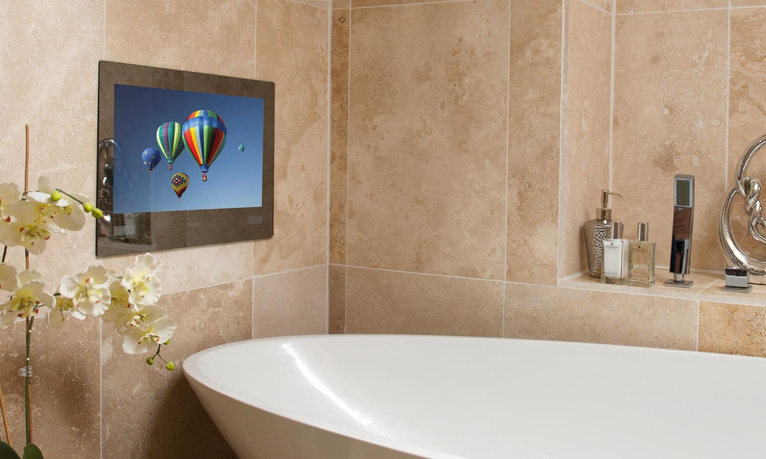 Tv In The Bathroom Stunning Is A Tv In The Bathroom A Necessity Or A Luxury  The Fashionable Design Decoration