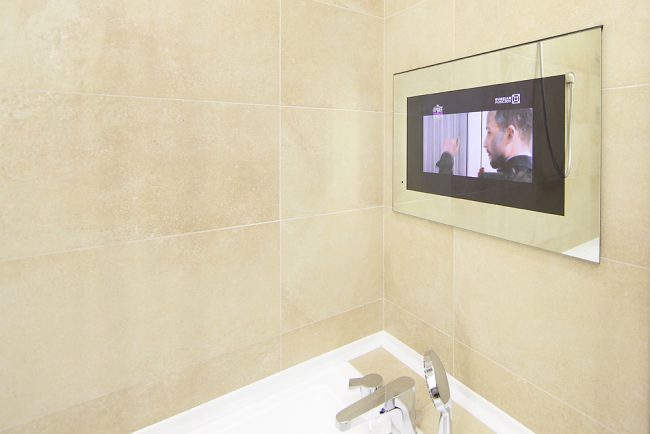 bathroom tv. So you ve decided want a bathroom TV  that s an absolutely normal desire especially in the modern times of technology and progress expand Is In The Bathroom Necessity Or Luxury Fashionable