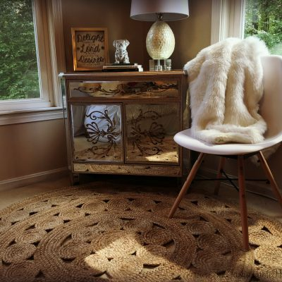 Home Decor: Bedroom Update With Serena & Lily Jute Rug