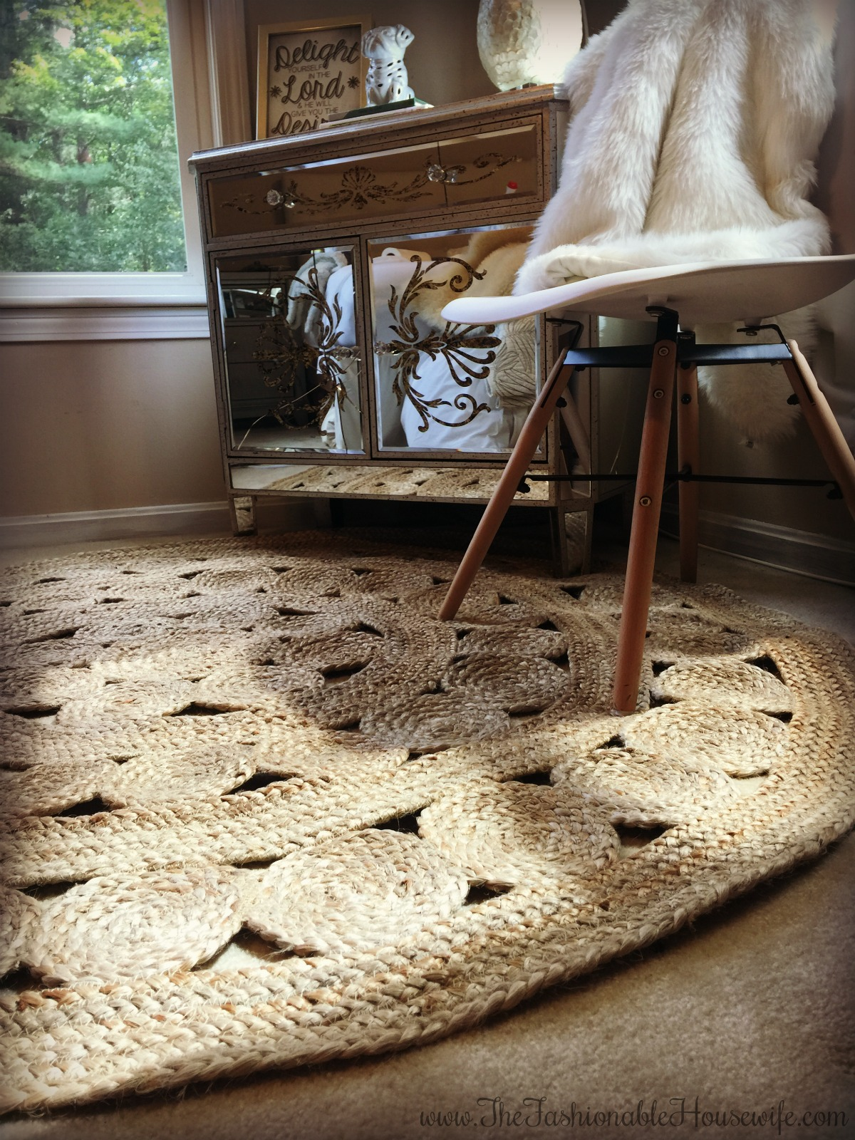 Home decor bedroom update with serena lily jute rug for Serena and lily coupons