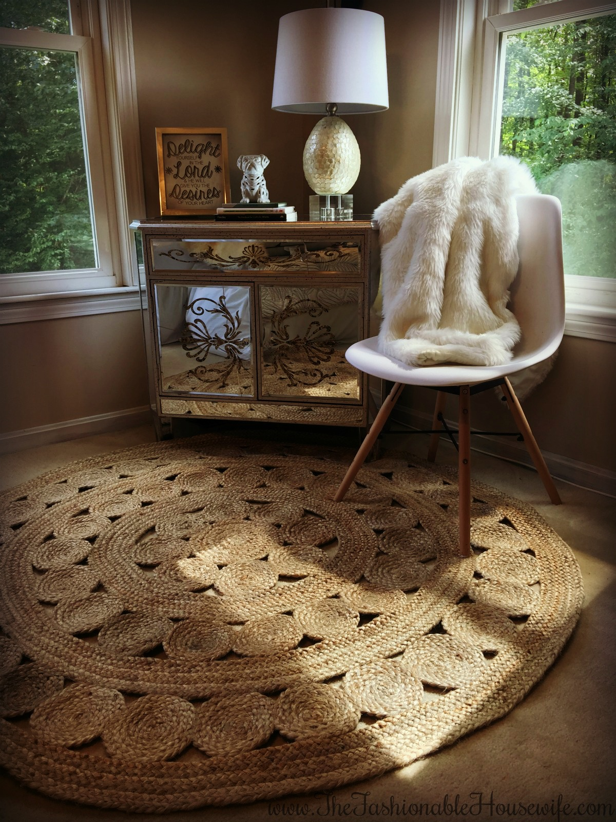 Home Decor Bedroom Update With Serena Lily Jute Rug The